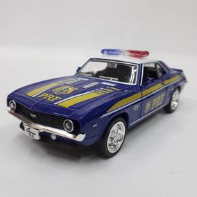 Miniatura Chevrolet Camaro Ss 1969 - Polícia Rod. Federal