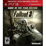 Fallout 3 Ps3 - S/.30 Soles. Nuevo Y Sellado.