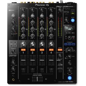 Mixer Pioneer Dj Djm-750 Mk2 4 Canais Com Adn