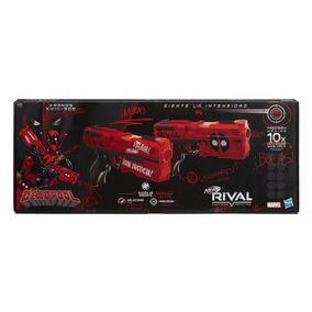 Lanzador Nerf Rival Kronos Xviii-500 Deadpool 2 Pack