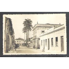 Foto Postal 14 Paranaguá Rua Quinze Anos 50