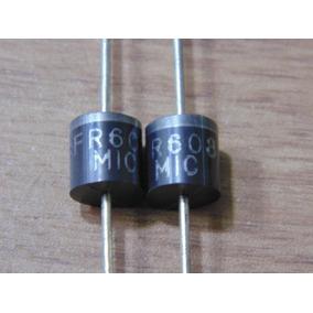 Diodo Fr608 Lote Com 4 Diodos Fr 608 Novo Original