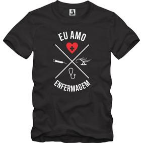 Camisetas Enfermagem - Camisetas Manga Curta no Mercado Livre Brasil 408851c7a8b