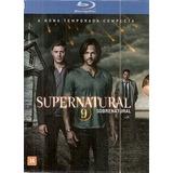 Supernatural: 9º Temporada Completa (blu-ray 4 Discos)