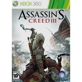 Assassins Creed 3 Xbox 360 Original Novo Lacrado