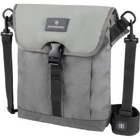 Mochila Victorinox Negra Flapover Digitalbag Gray