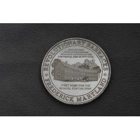 Medalha Prata .999 Frederick Maryland 1976