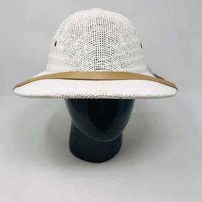 Sombrero Para Cazador Safari Tipo Salacot Ajustable Rocha b7dfa5bbc67