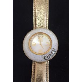 Reloj Coach Dorado Para Dama