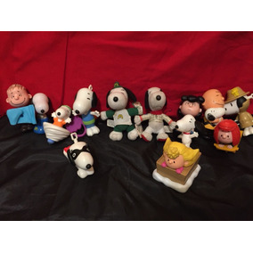 Set X 13 Muñecos De Snoopy Mc Donald