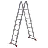 Escada Articulada 13 Em 1 Botafogo 4x4 16 Degraus