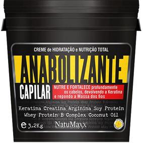 Anabolizante Capilar Natumaxx 3,2kg Frete Grátis