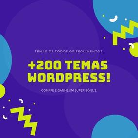 +200 Temas Wordpress +suporte - Temas Famosos E Atualizados e04a3424c73