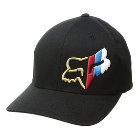 Gorra Fox Barger Flexfit Hat Color Negro Talla S m Original 99c984101c6