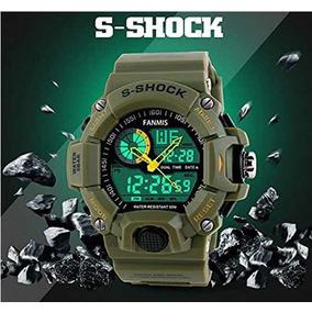 Reloj S-shock Waterproof Antigolpe Militar Táctico