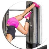 Puxador Tornozeleira Strap Fitness Musculação Frete Grátis