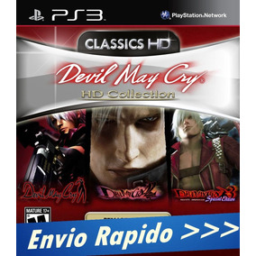 Ps3 Devil May Cry Hd Collection - Digital Psn Envio Rapido