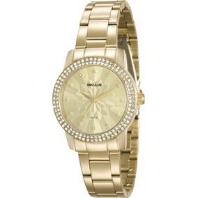 f4ed7872238 Relogio Feminino Com Strass Perfeito Seculus - Relógios De Pulso no ...