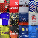 2 Camisas De Time Nacionais E Internacionais