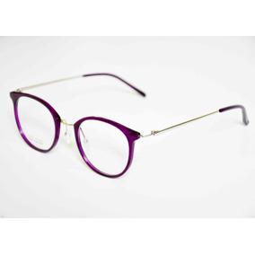 5e0a93ebdb188 Oculos De Grau Rosto Redondo Feminina - Óculos Violeta escuro no ...