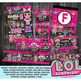 2x1 Kit Imprimible Lol Surprise 2, Fiesta Infantil, Cumple