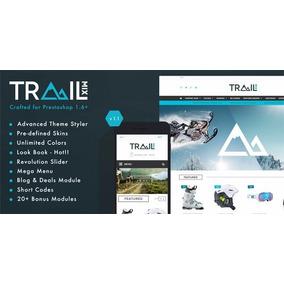 Prestashop - Tema Trailmix Multiuso Responsivo