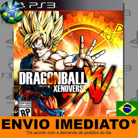 Jogo Dragon Ball Xenoverse Ps3 Envio Na Hora Mídia Digital