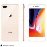 iPhone 8 Plus Dourado, Com Tela De 5,5, 4g, 64 Gb