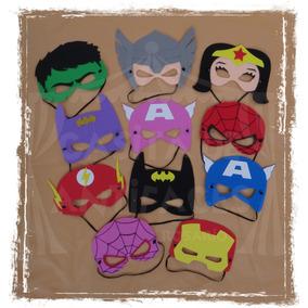 Antifaz Máscara Superhéroes Goma Eva Souvenir