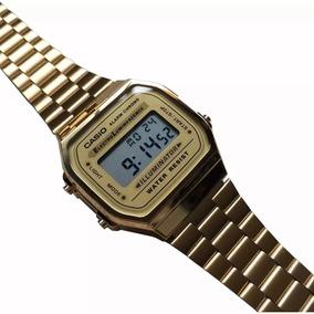 35ba7771a390b Relogio De Pulso Casio Dourado - Relógios De Pulso no Mercado Livre ...
