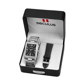 a43f466655a Pulseira De Borracha Para Relogio Seculus - Relógios no Mercado ...