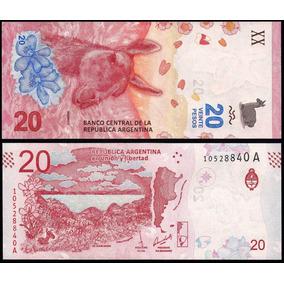 Argentina P-new Fe 20 Pesos 2017 * C O L *
