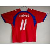 70cea3d17f Camisa Republica Tcheca Nedved - Futebol no Mercado Livre Brasil