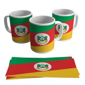 Caneca Rio Grande Do Sul Bandeira Estados Presente Lembrança