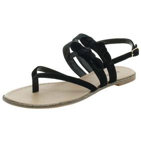 f3dce1118a Sandálias Rasteiras De Veludo - Sapatos no Mercado Livre Brasil