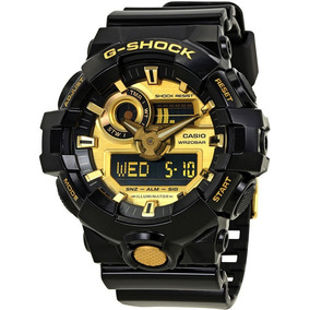 5a6e4cfc26e3 Reloj G Shock Negro Dorado - Relojes Pulsera Masculinos Casio en ...
