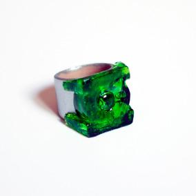 Replica Anel Lanterna Verde - Translucido