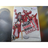 Juego De Wii Original,high School Musical 3 Senior Year Danc
