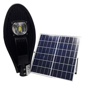 Luminária Para Iluminação Pública 50w Energia Solar