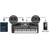 Órgano Yamaha Psr S670 Piano Teclado Electrónico ¡nuevo!
