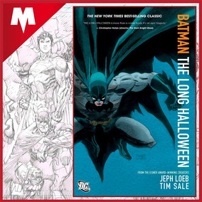 Batman The Long Halloween Tp Dc Comics Inglés Nuevo