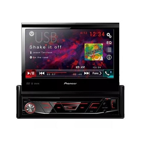 Dvd Player Pioneer Avh 3180 Bt 7 Retrátil 1 Din Bluetooth