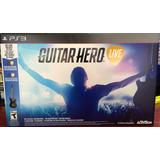 Guitar Hero Live Ps3 Con Guitarra Y Juego Nuevo Sellado