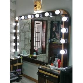 Espejo Con Luz Para Salon De Belleza En Mercado Libre Mexico