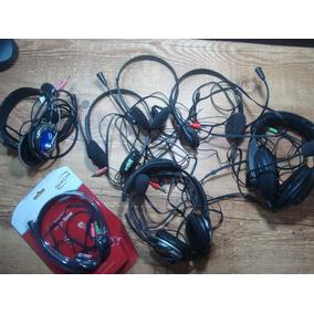 Lote Headphone Para Computador Com Defeito Diversos