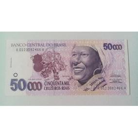 Cédula C240 50000 Cruzeiro Real Baiana Brasil