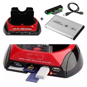 Kit Case Dock Hd All N1 Hdd Doking Usb 2,0 Ide/sata Novidade