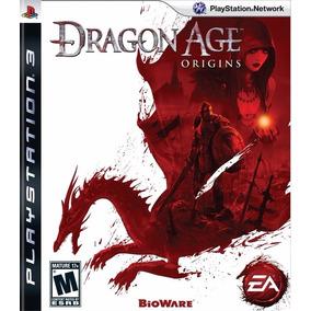 Jogo Dragon Age Origins Ps3 Playstation 3 Mídia Física Rpg