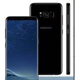 Samsung Galaxy S8 2 Chip Preto 64gb.8 4g 12mp Vitrine