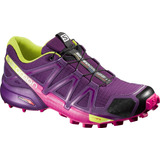 Zapatilla Femenina Salomon- Speedcross 4 W Violeta